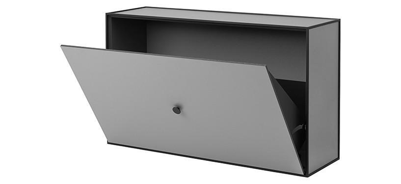 By Lassen Frame Shoe Cabinet · Mørkegrå
