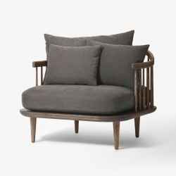 &Tradition Fly Chair SC1 · Eg mørkolieret · Hot Madison 093