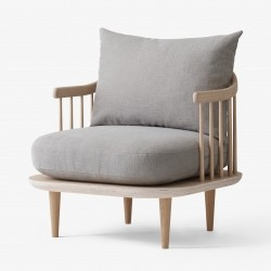 &Tradition Fly Chair SC10 · Eg hvidolieret · Hot Madison 094