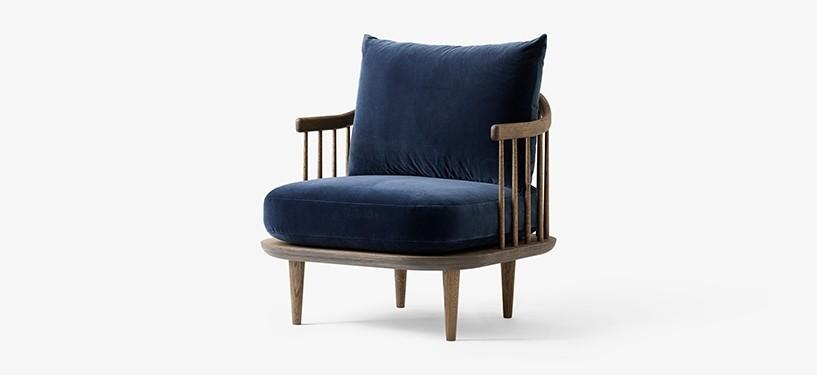 &Tradition Fly Chair SC10 · Eg mørkolieret · Harald 182