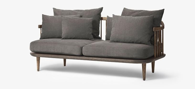 &Tradition Fly Sofa SC2 · Eg mørkolieret · Hot Madison 093