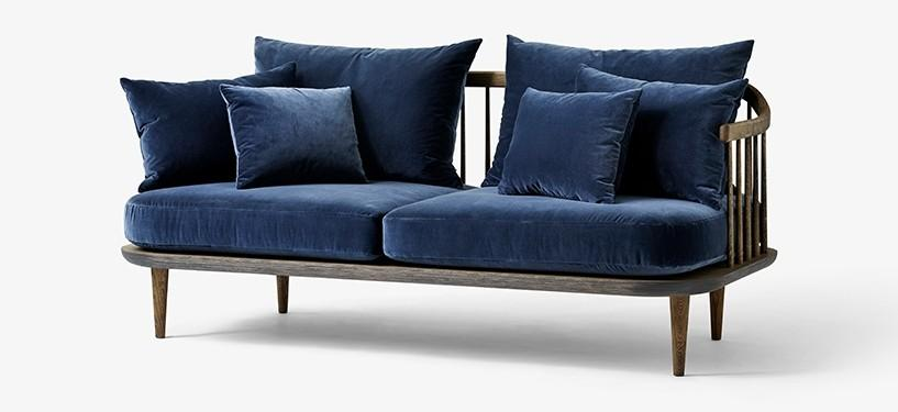 &Tradition Fly Sofa SC2 · Eg mørkolieret · Harald 182