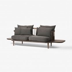 &Tradition Fly Sofa SC3 · Eg mørkolieret · Hot Madison 093