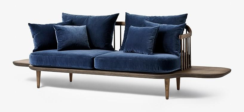 &Tradition Fly Sofa SC3 · Eg mørkolieret · Harald 182