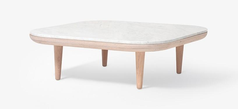 &Tradition Fly Table SC4 · Marmor Bianco Carrara · Eg