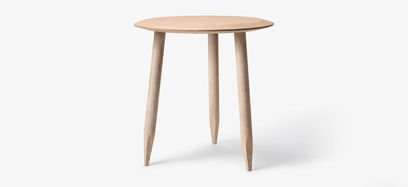 &Tradition Hoof Table SW1 · Eg hvidolieret