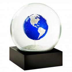 CoolSnowGlobes Big Blue Marbel