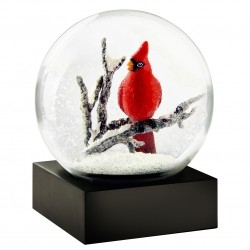 CoolSnowGlobes Cardinal Singing