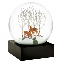 CoolSnowGlobes Deer In Woods