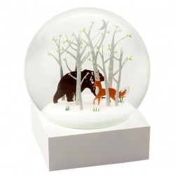 CoolSnowGlobes Fox and Bear
