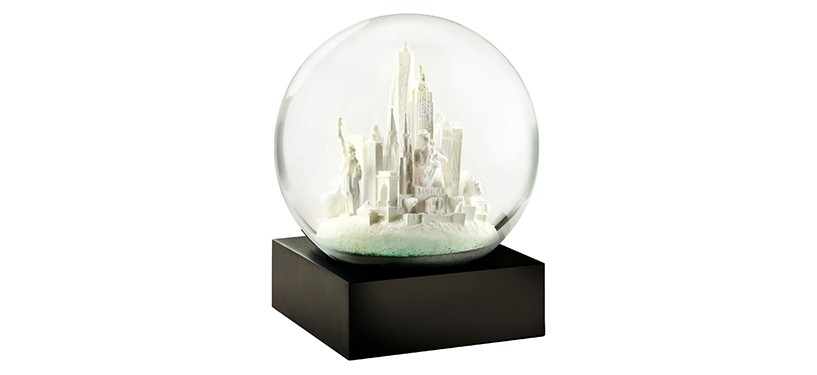 CoolSnowGlobes NYC White