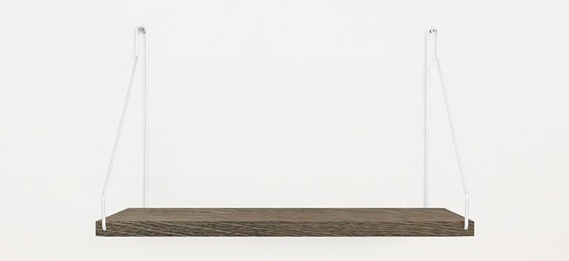 Frama Shelf · Eg Mørkbejdset · 40 x 20 · Sort