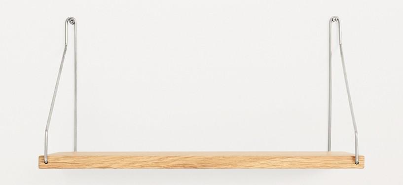 Frama Shelf · Eg · 40 x 20 · Rustfrit stål