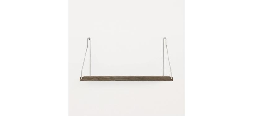 Frama Shelf · Eg Mørkbejdset · 40 x 20 · Rustfrit stål