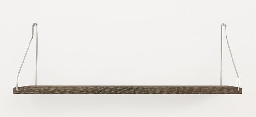 Frama Shelf · Eg Mørkbejdset · 60 x 20 · Rustfrit stål