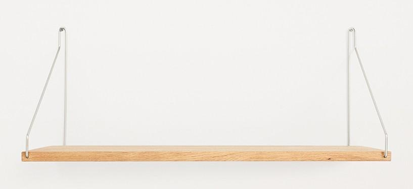 Frama Shelf · Eg · 60 x 27 · Rustfrit stål