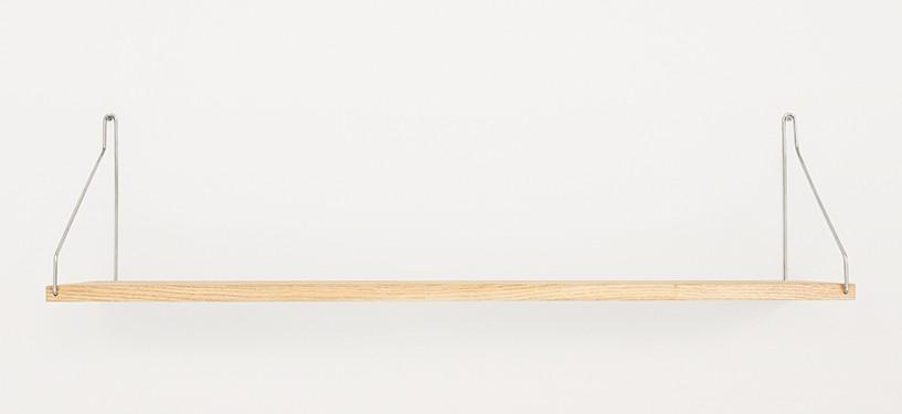 Frama Shelf · Eg · 80 x 20 · Rustfrit stål