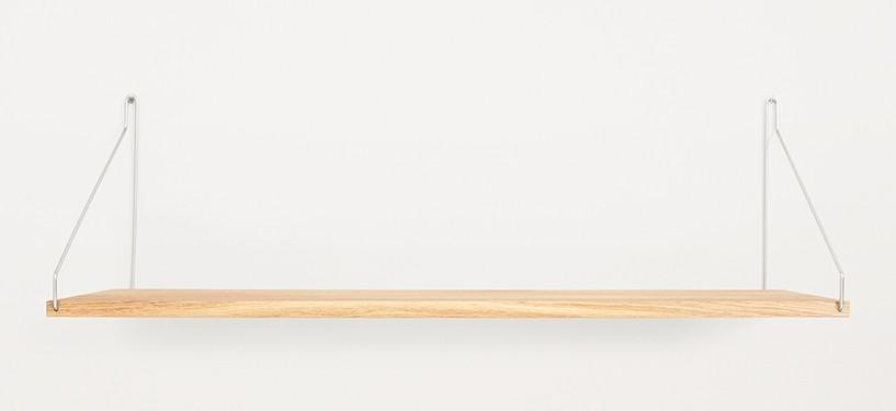 Frama Shelf · Eg · 80 x 27 · Rustfrit stål