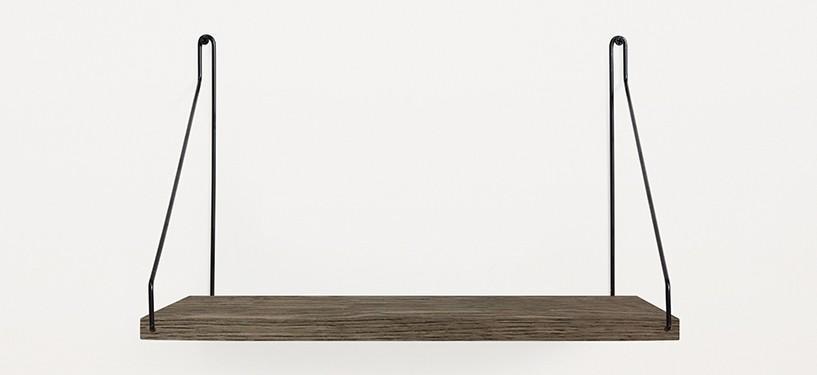 Frama Shelf · Eg Mørkbejdset · 40 x 27 · Sort