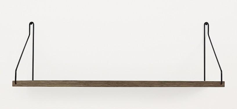 Frama Shelf · Eg Mørkbejdset · 60 x 20 · Sort
