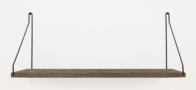 Frama Shelf · Eg Mørkbejdset · 60 x 27 · Sort