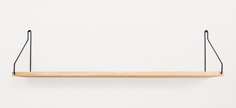 Frama Shelf · Eg · 80 x 20 · Sort