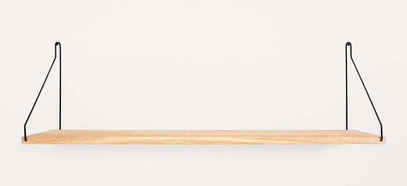 Frama Shelf · Eg · 80 x 27 · Sort