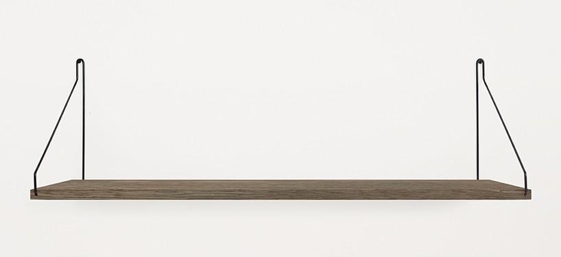 Frama Shelf · Eg Mørkbejdset · 80 x 27 · Sort
