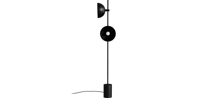 Handvärk The Floor Lamp · Sort