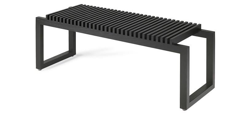 Skagerak Cutter Bench · Sort
