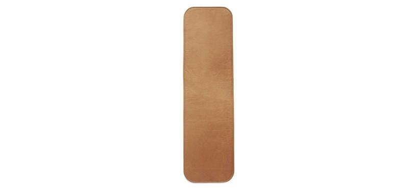 Skagerak Hven Bench Cushion · Anilin læder Cognac