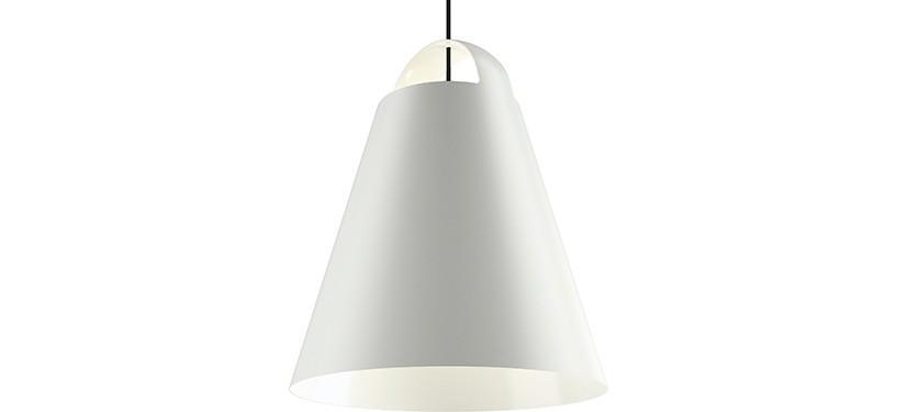 Louis Poulsen Above · Hvid · Ø 55 cm.