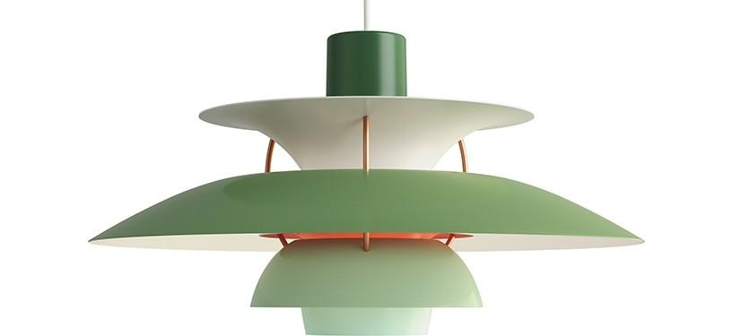 Louis Poulsen PH 5 · Nuancer af grøn