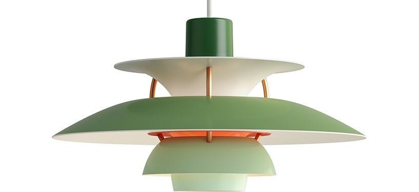 Louis Poulsen PH 5 Mini · Nuancer af grøn
