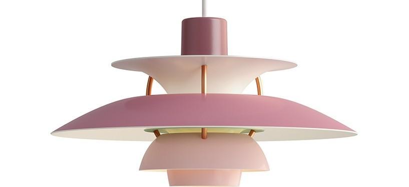 Louis Poulsen PH 5 Mini · Nuancer af rosa