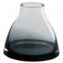 Ro Collection Flower Vase No. 1 · Smoked grey