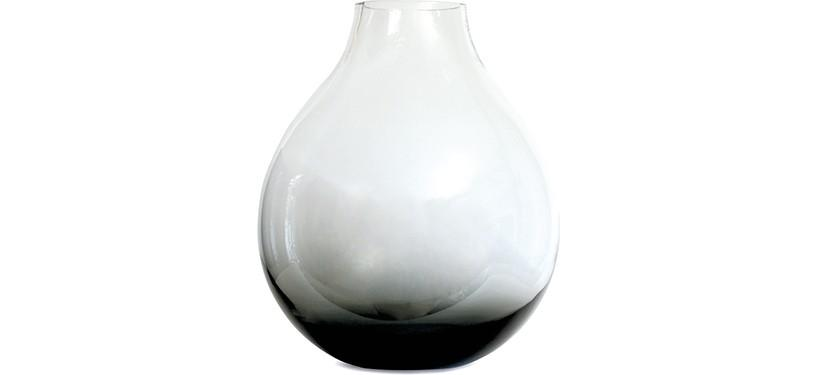 Ro Collection Flower Vase No. 24 · Smoked grey