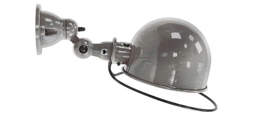 Jieldé Loft D1020 · Blank · Børstet stål