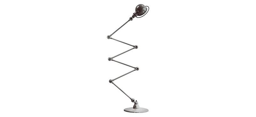 Jieldé Loft D9406 · Blank · Børstet stål