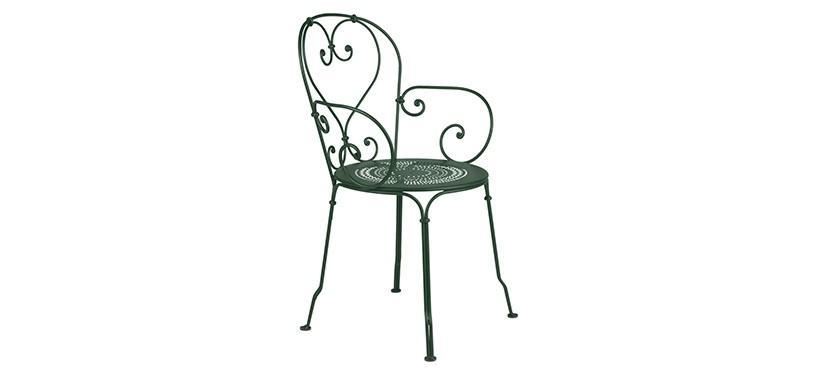 Fermob 1900 Armchair · Cedar Green