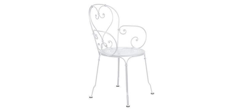 Fermob 1900 Armchair · Cotton White