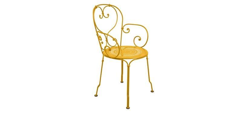Fermob 1900 Armchair · Honey