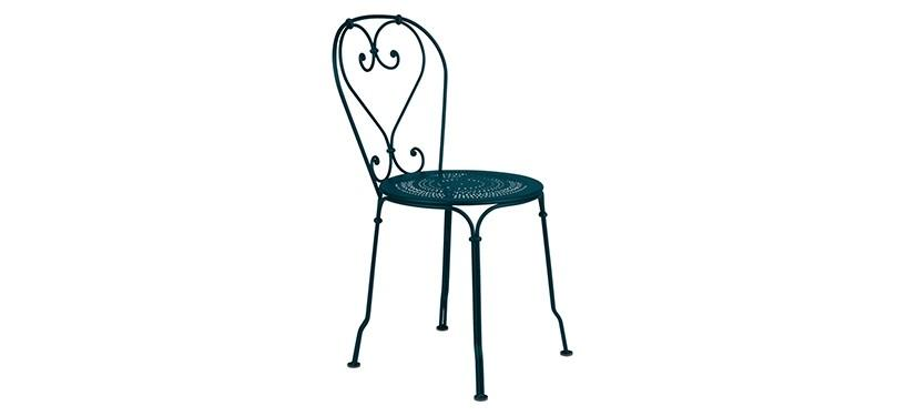 Fermob 1900 Chair · Acapulco Blue