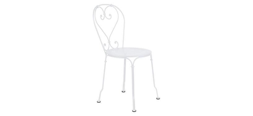 Fermob 1900 Chair · Cotton White