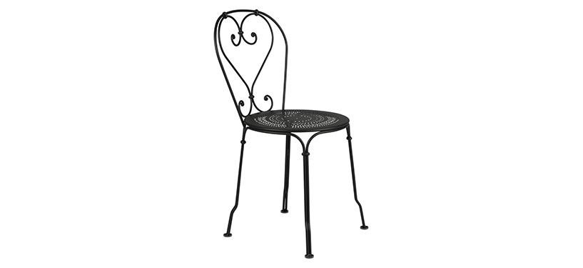 Fermob 1900 Chair · Liquorice