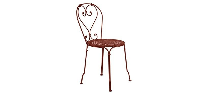 Fermob 1900 Chair · Red Ochre