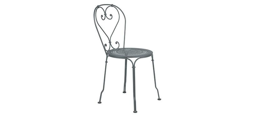 Fermob 1900 Chair · Storm Grey