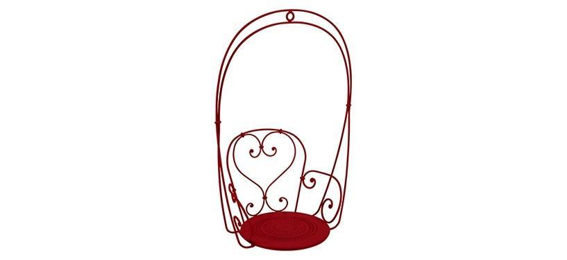 Fermob 1900 Hanging Armchair · Poppy