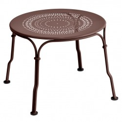 Fermob 1900 Low Table · Russet