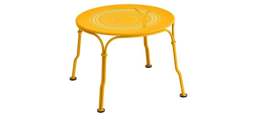 Fermob 1900 Low Table · Honey